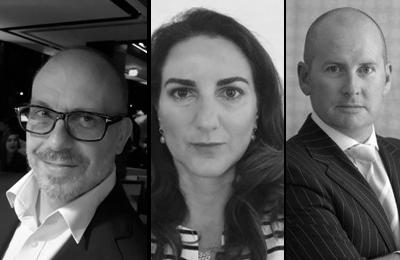 John Stamper, Nadia Barton & Gerard Hobby