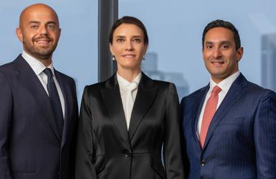 Osama Audi, Abeer Jarrar and Adnan Doha